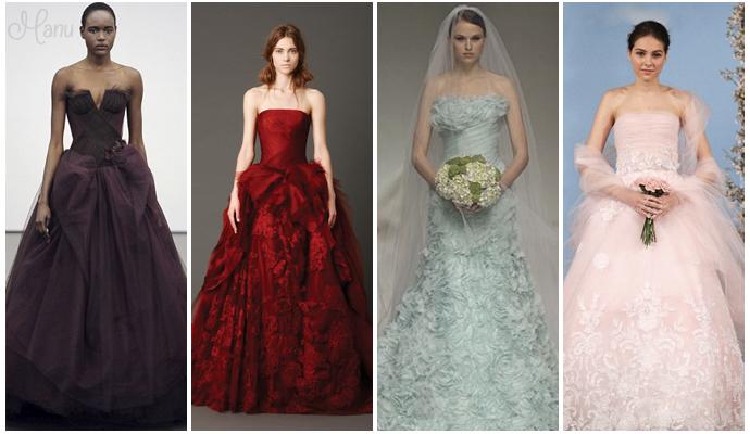 vestidos de casamento coloridos 03