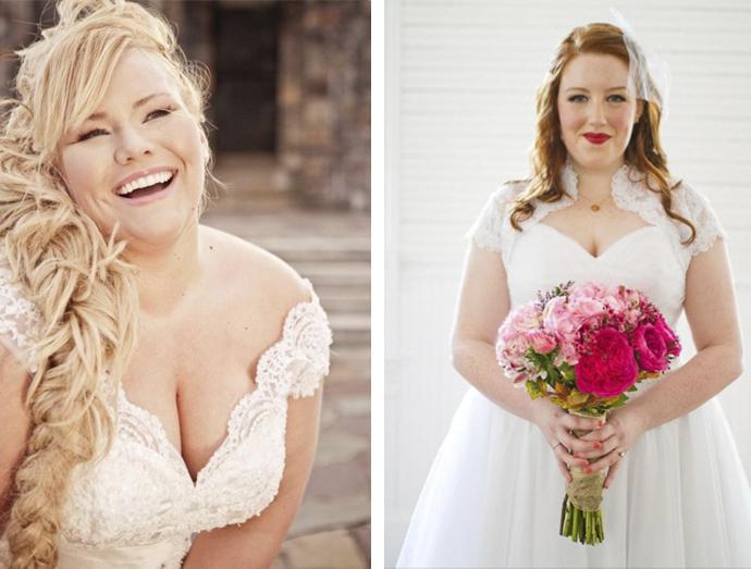 Blog Manu Gonçalez noivas fofinhas decote em V